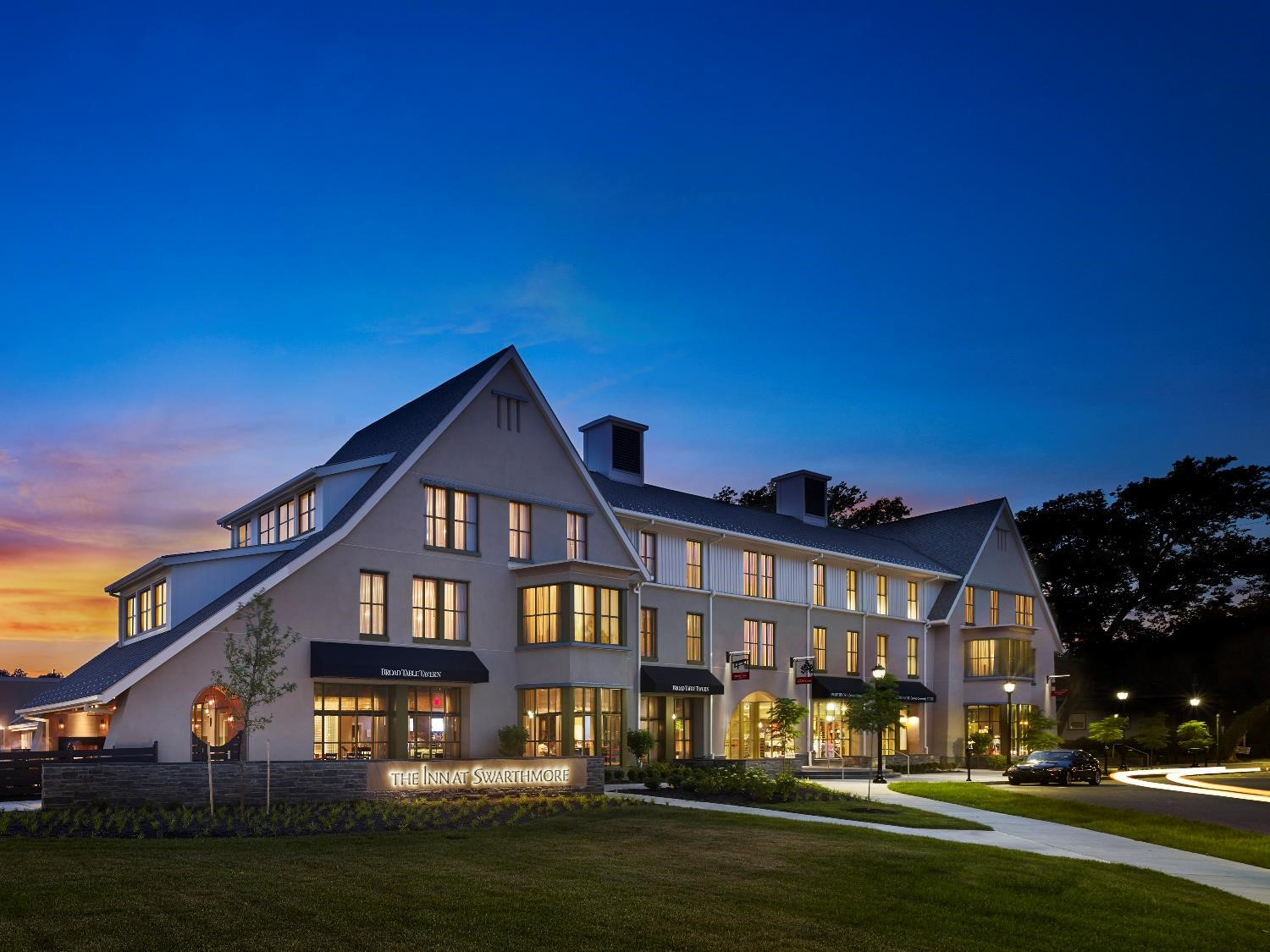 Inn at Swarthmore On campus So convenient Touch of elegance