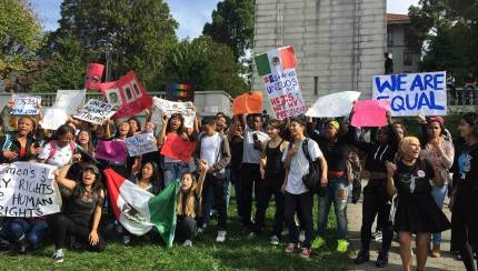 Student activism is an important part of learning.