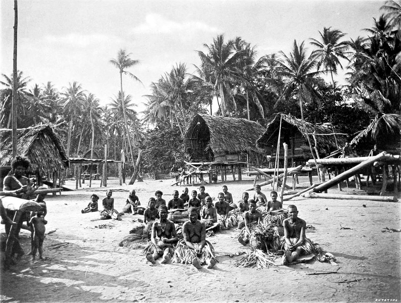 Kerepunu women at the marketplace of Kalo, British New Guinea, 1885  John William Lindt  -  File:Picturesque New Guinea.djvu   I found the unspoiled lifestyles of different cultures fascinating.