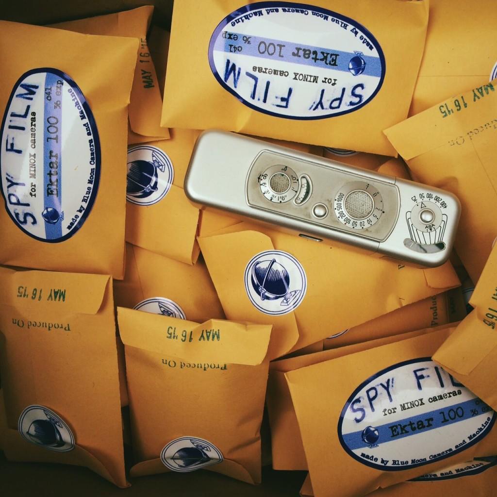 Spy Film for Minox Cameras on sale now!
