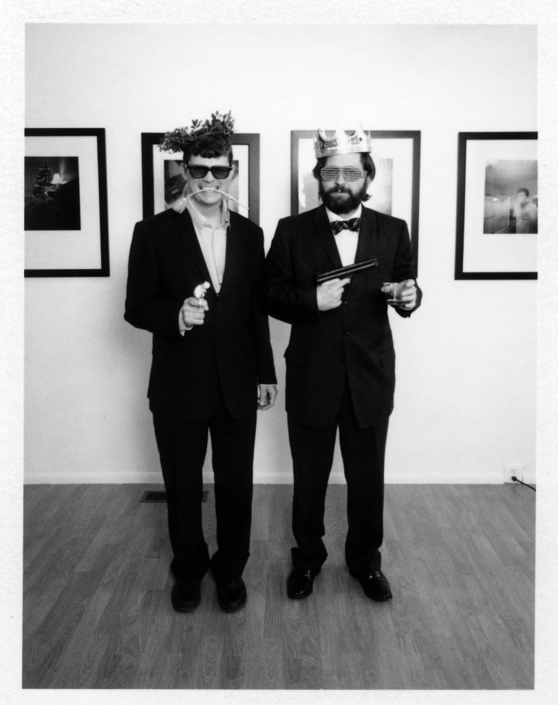 Zeb and Jake at the opening of their joint show, Still Live, in Vancouver. (Photo by Jason Kelley) May 2013