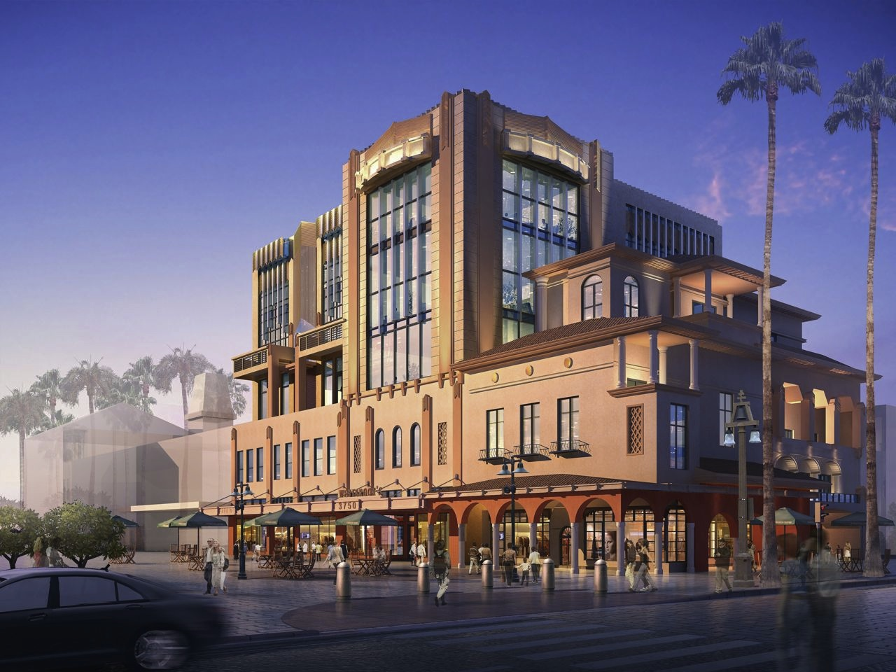 Proposed Mixed-Use Building