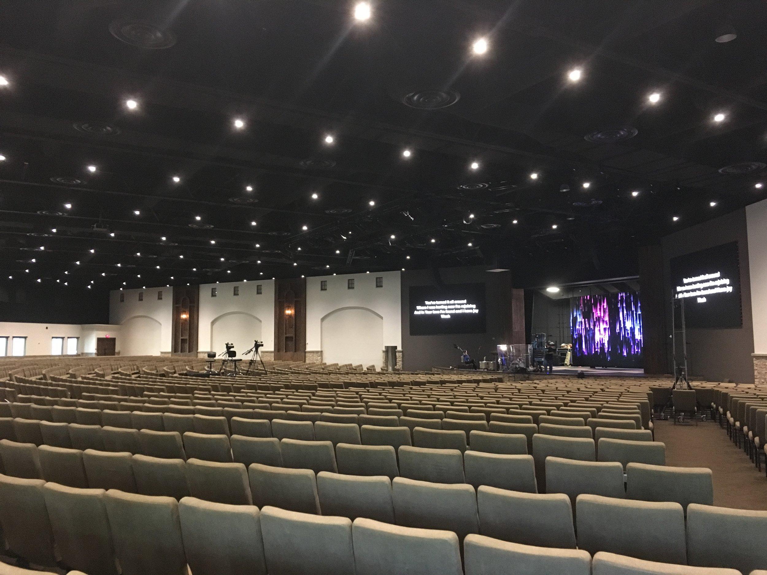 2,500 Seat Sanctuary Remodel