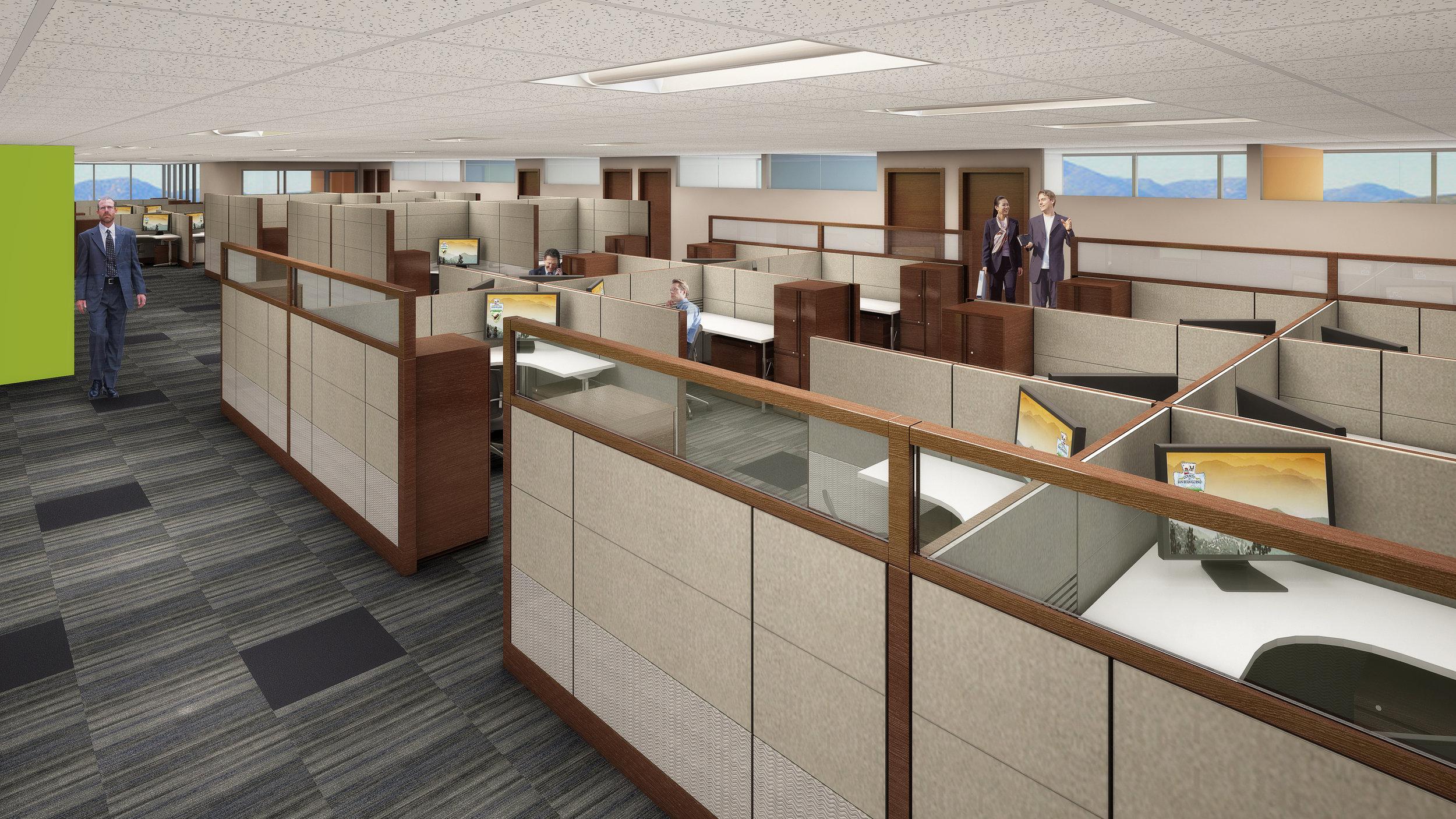 Class A Office Tenant Improvements