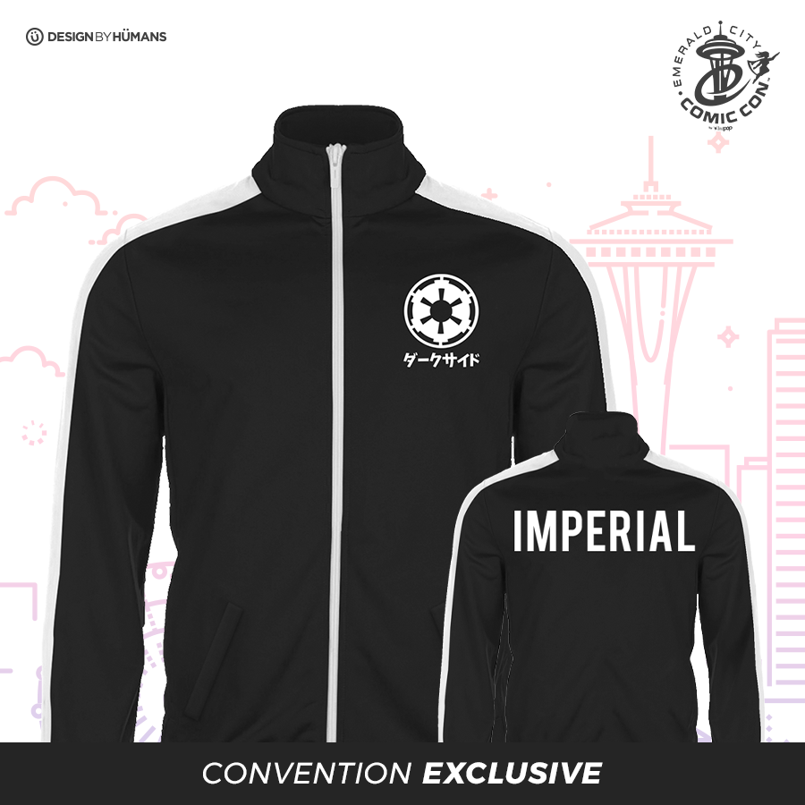 Imperial Jacket - Front/Back Printed Track Jacket | Men's S - 2XL | $66