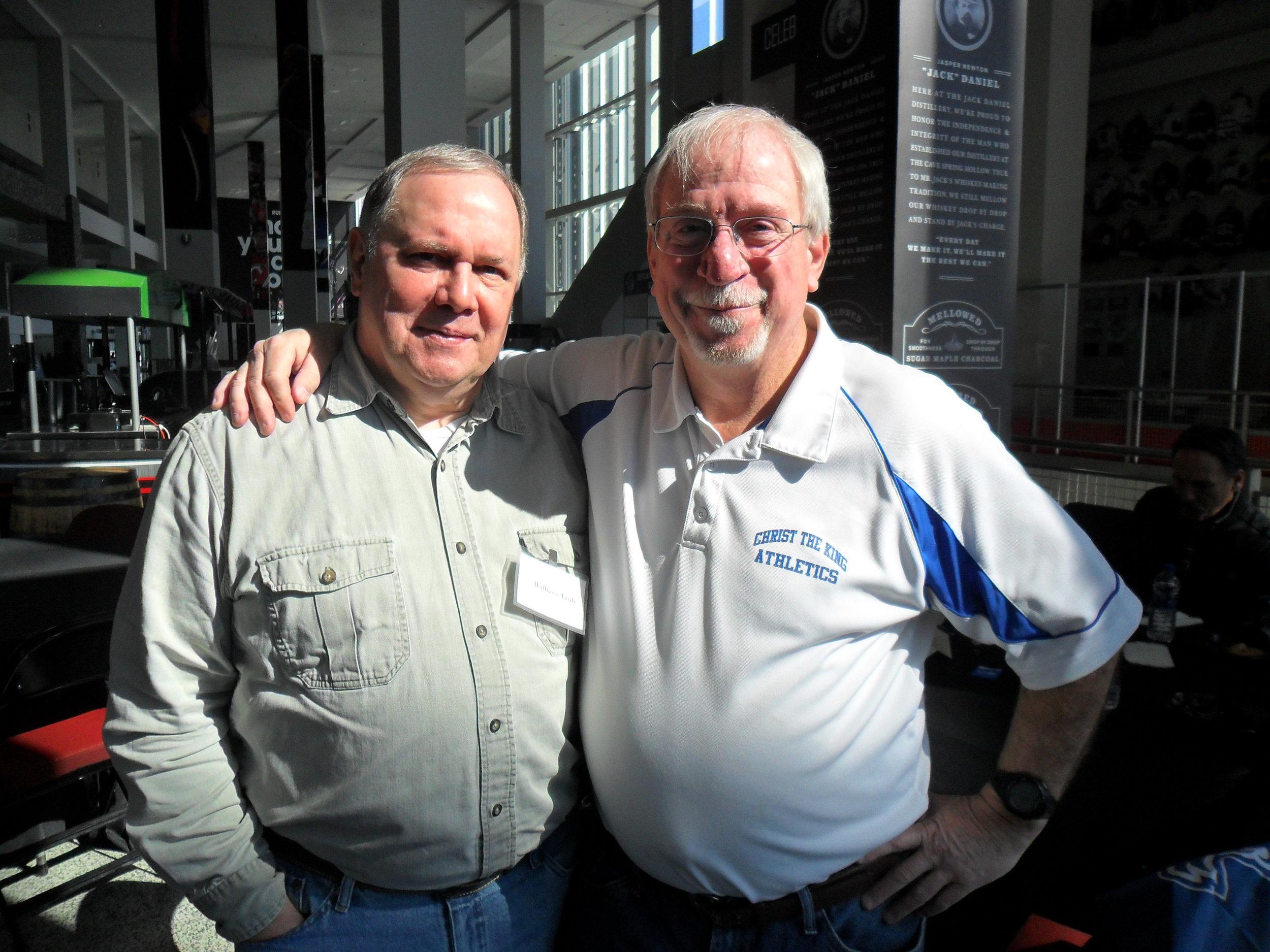 Bill Trub and Chris Kennedy