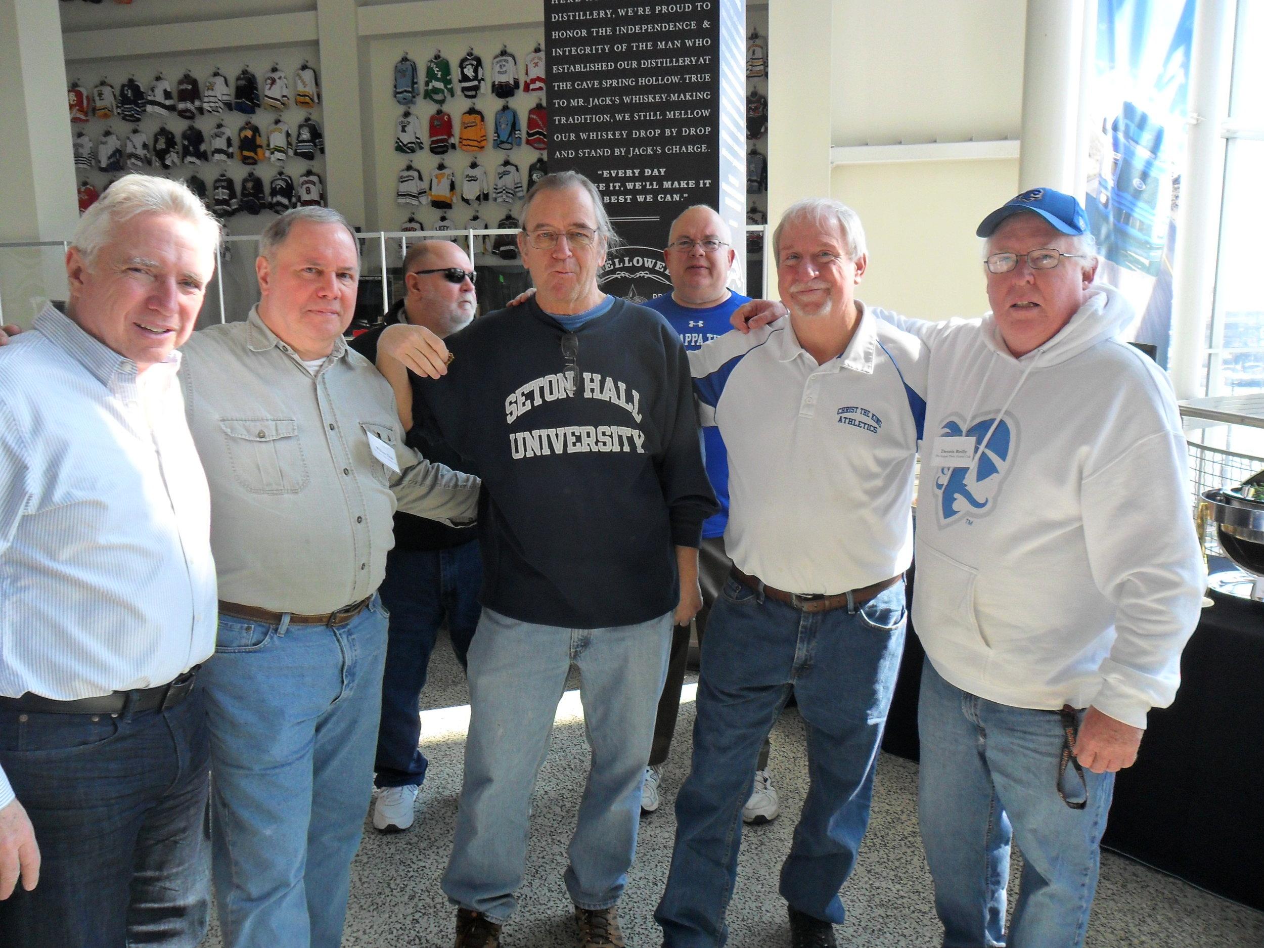 Larry DePalma, Bill Trub, Rich Holden, Chris Kennedy, Dennis Reilly