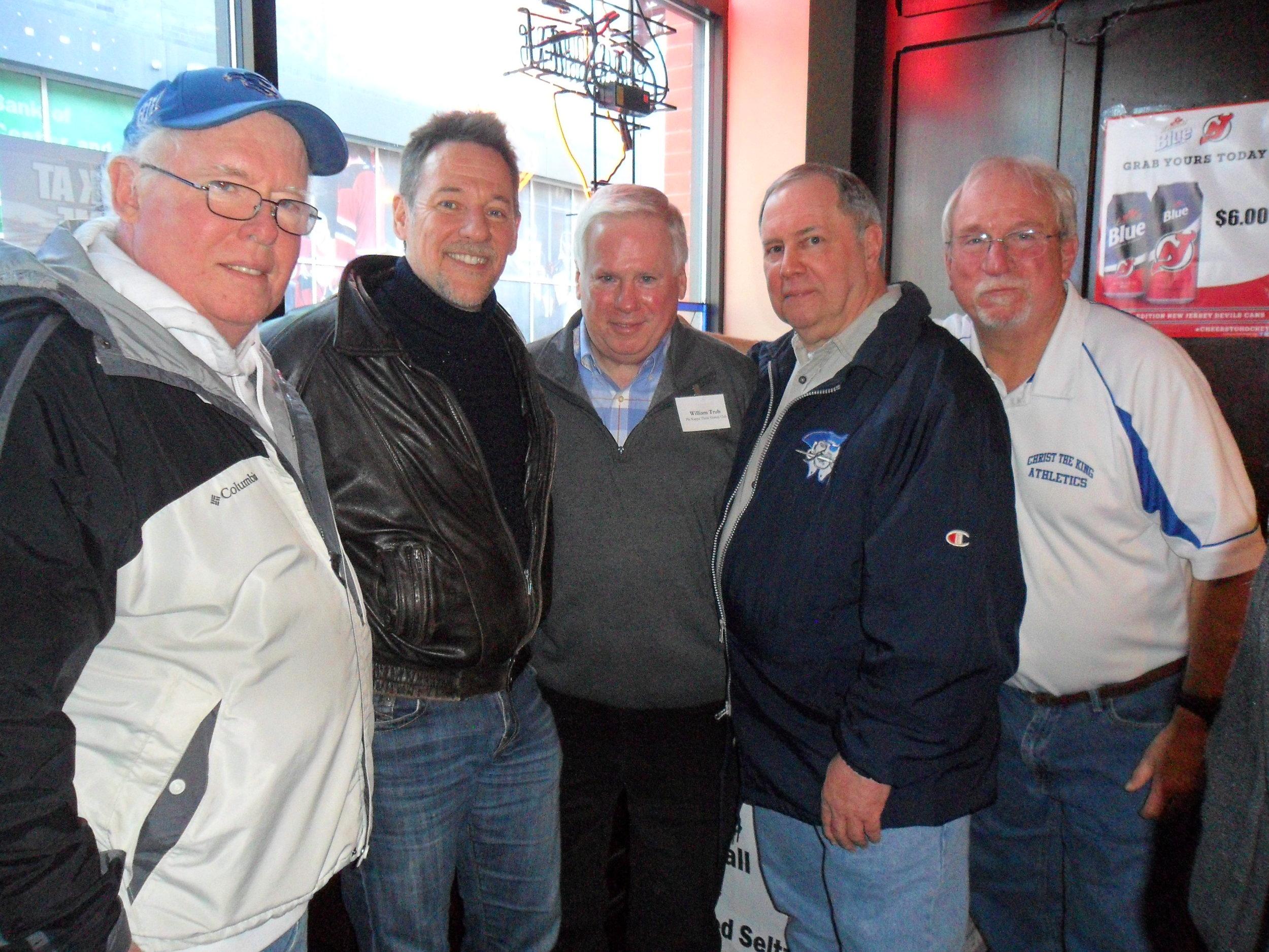 Dennis Reilly, John O'Donnell, Gerry Lenehan, Bill Trub, Chris Kennedy