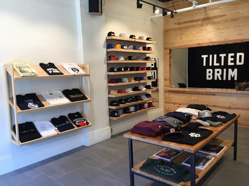 Tilted Brim - TILTED BRIM is a San Francisco based brand and multi-label retailer, offering high quality clothing and accessories that fuse old-school cool and contemporary fit.