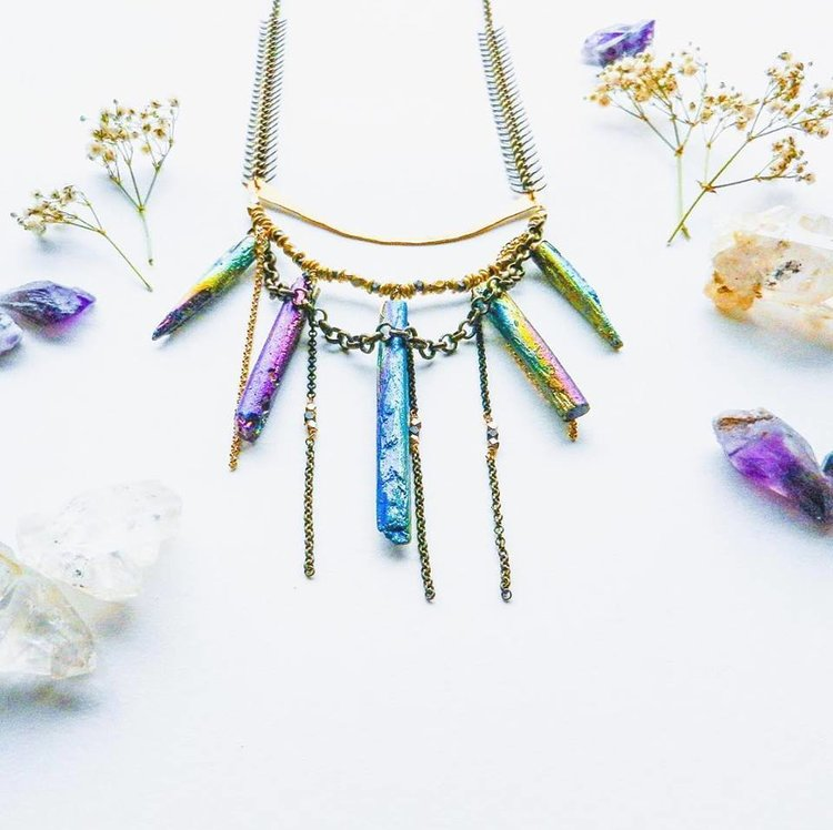 Tropikali - Jewelry handmade in Oakland inspired by the goddess of rebirth and destruction Kali. Unique pieces instilling confidence and empowering individuals to be themselves!