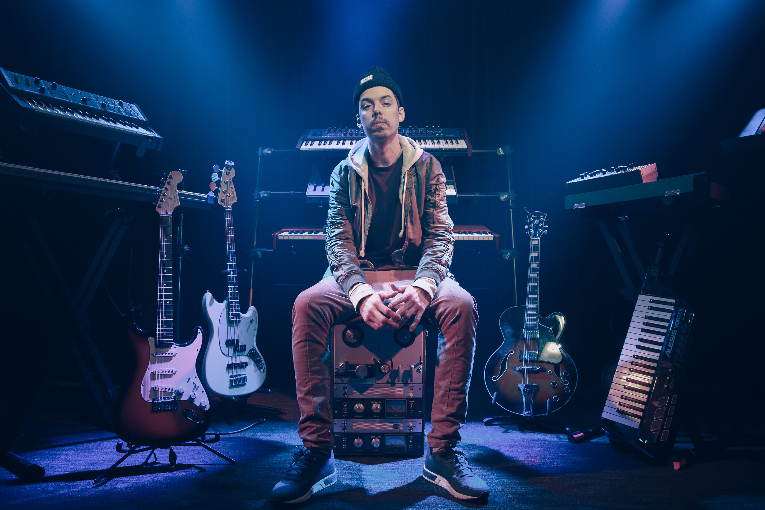 Grieves - Seattle-based hip-hop musician and rapper Benjamin Laub, better known as Grieves, balances his dueling impulses through his music: the need to cut loose and the need to vent. Grieves wants to have a good time while also keeping it real and honest. Sonically, listeners will find him experimenting with fluttering trap beats one moment and hallmarks of classic soul, like rich guitar and humming organs, the next.