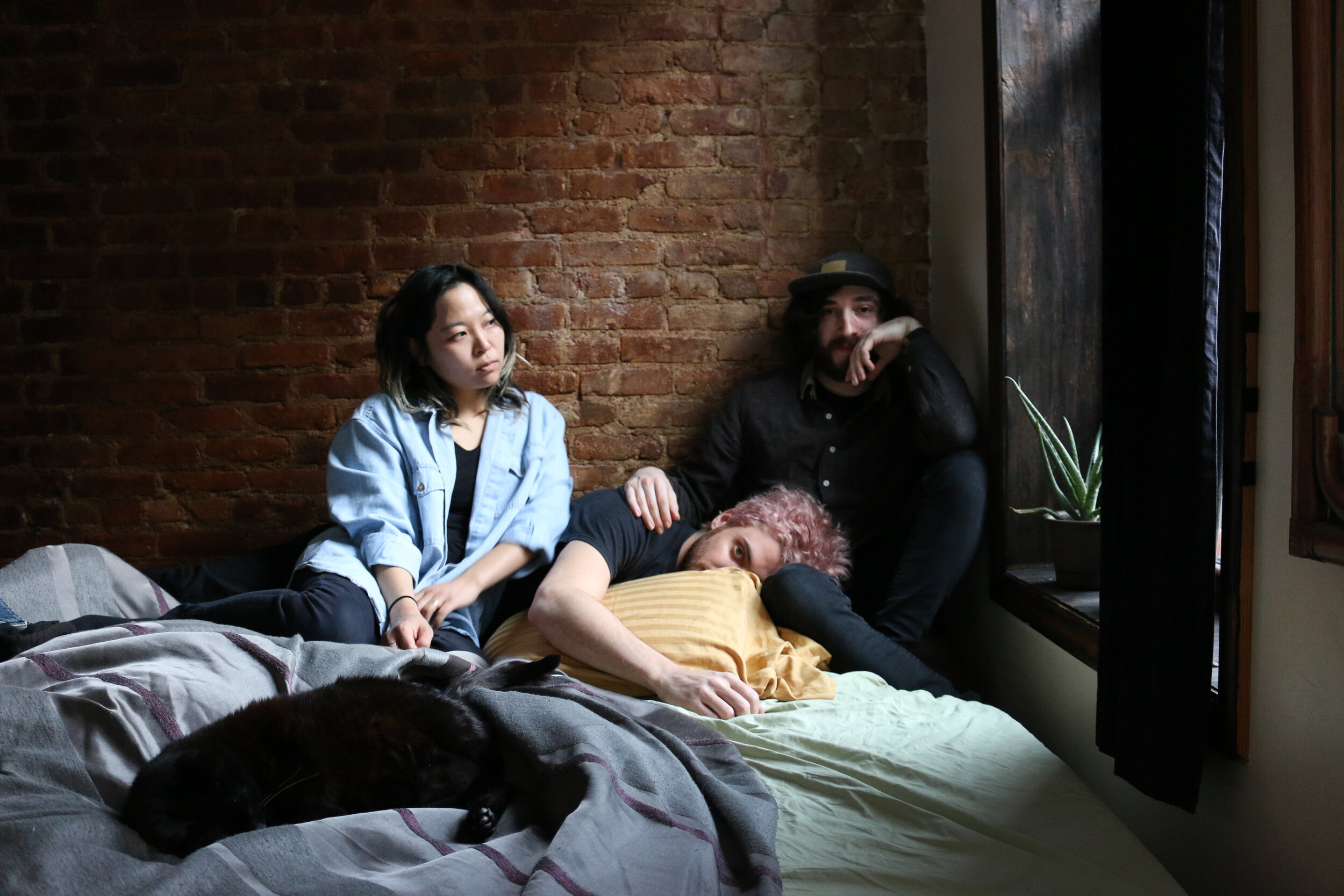 Haybaby - Haybaby is a very good band from Brooklyn, NY, that makes music for human beings. It is post-90s pre-death sometimes loud sometimes less so music for flipping out or being sad to. Vice's Noisey called Haybaby's 2015 LP Sleepy Kids