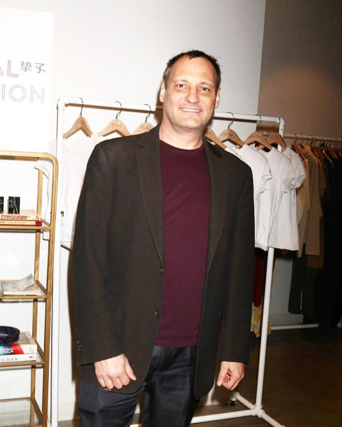 Infolist.com Founder Jeff Gund   Fred Segal Intuition Film Screening /  Photo courtesy of Global Intuition