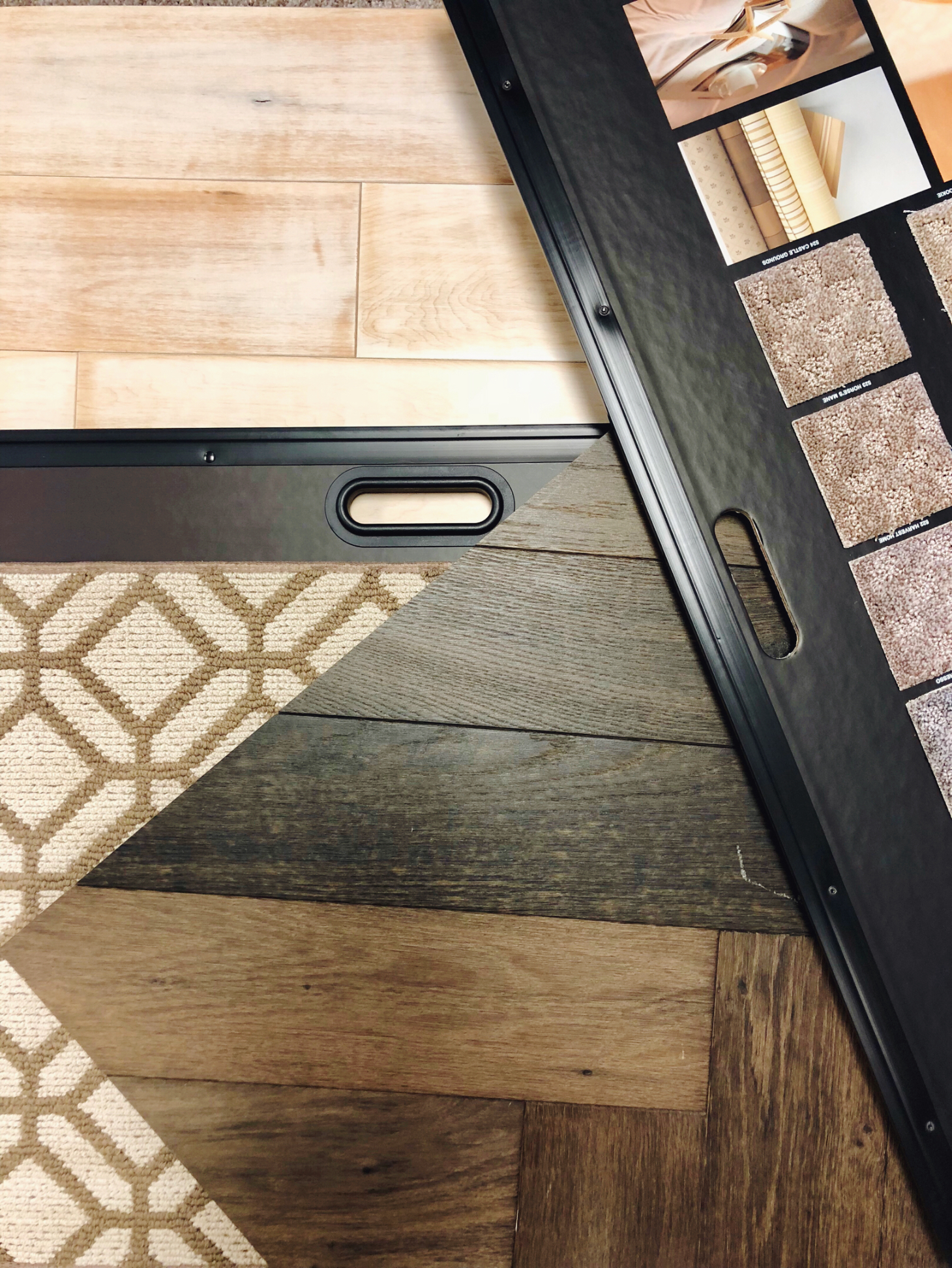 We Offer a wide selection of flooring... - I