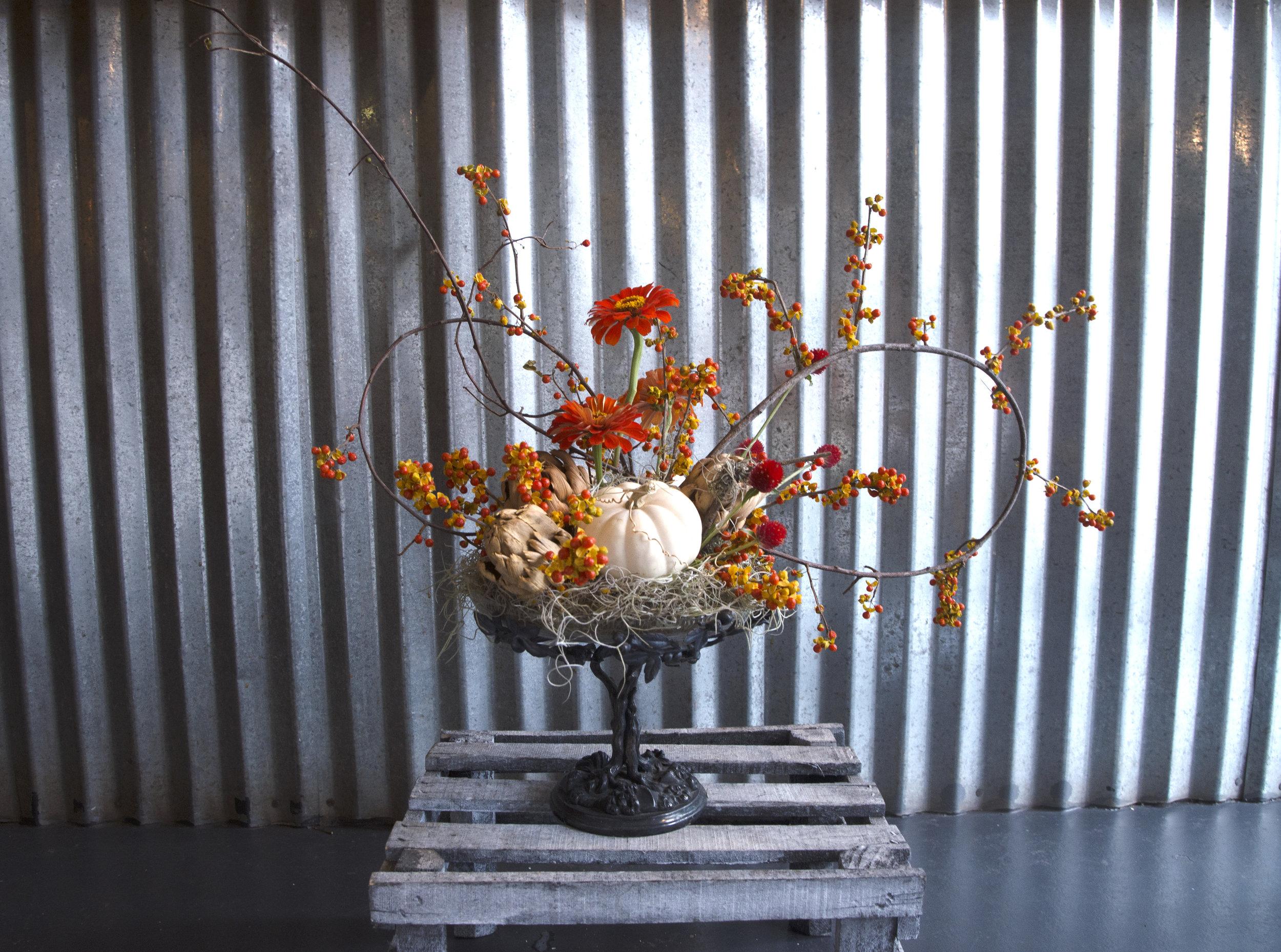 preserved centerpiece denys mitchs flowers thanksgiving centerpiece fresh cut flowers new orleans florist.jpg