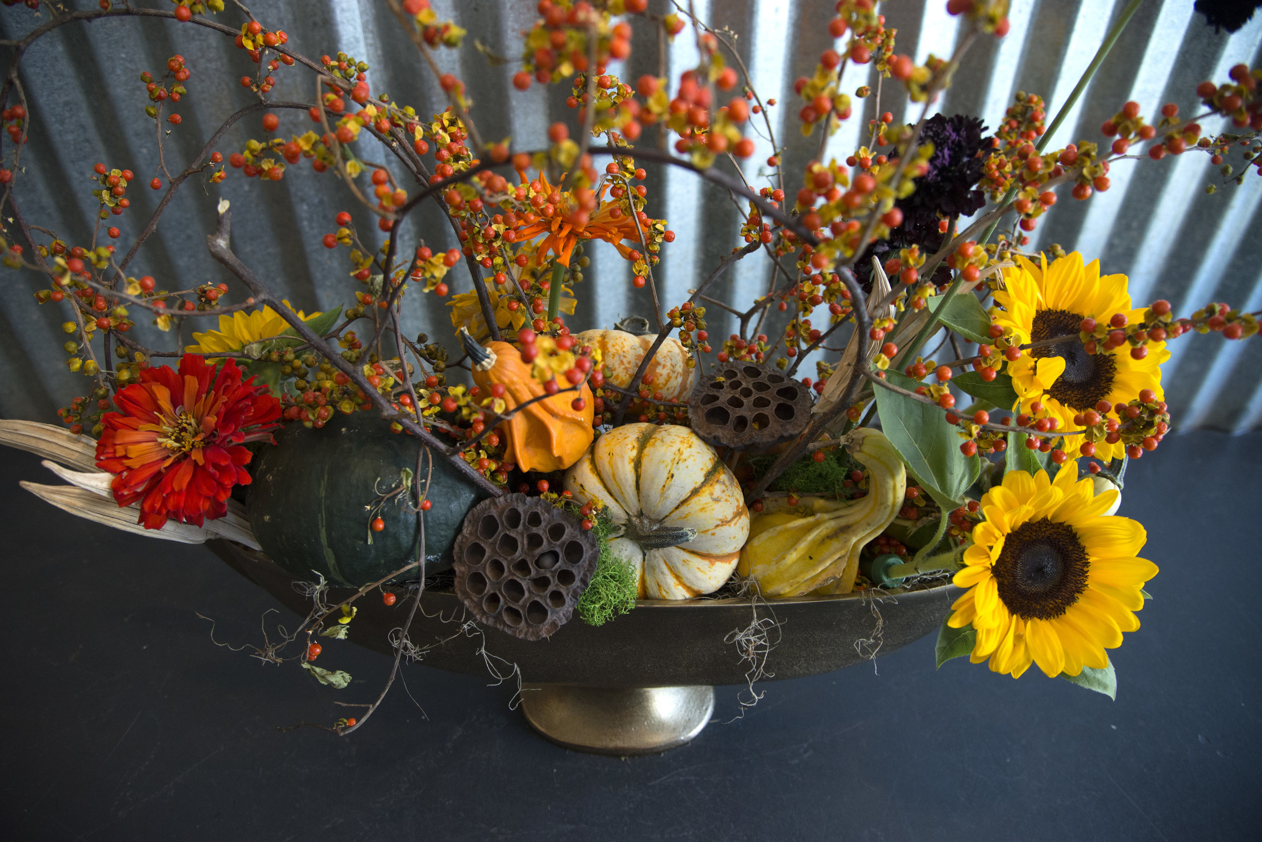 fall preserved basket with blooms mitchs flowers centerpiece denys mertz.jpg