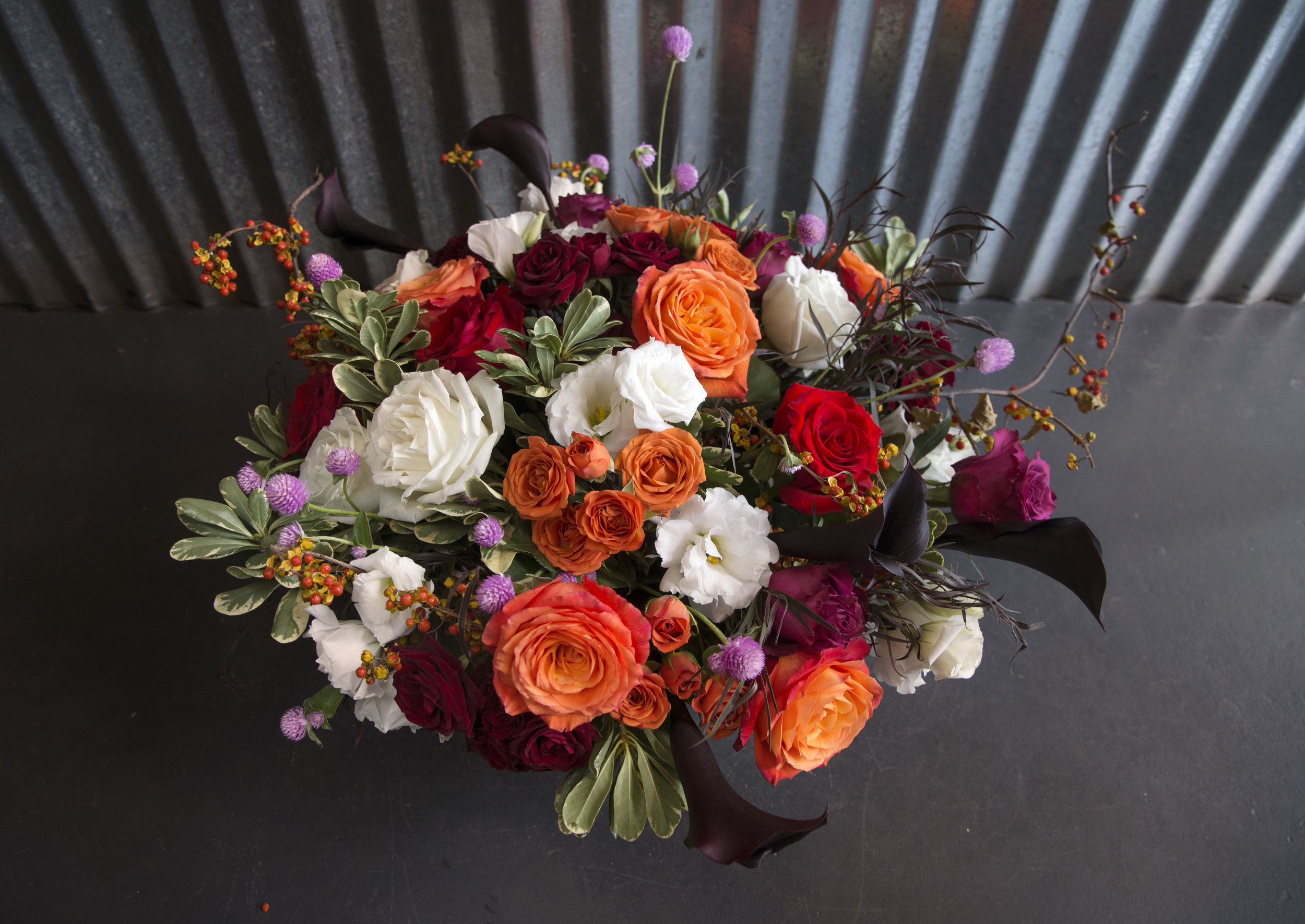 low large centerpiece fall colors mitchs flowers monique chauvin.jpg
