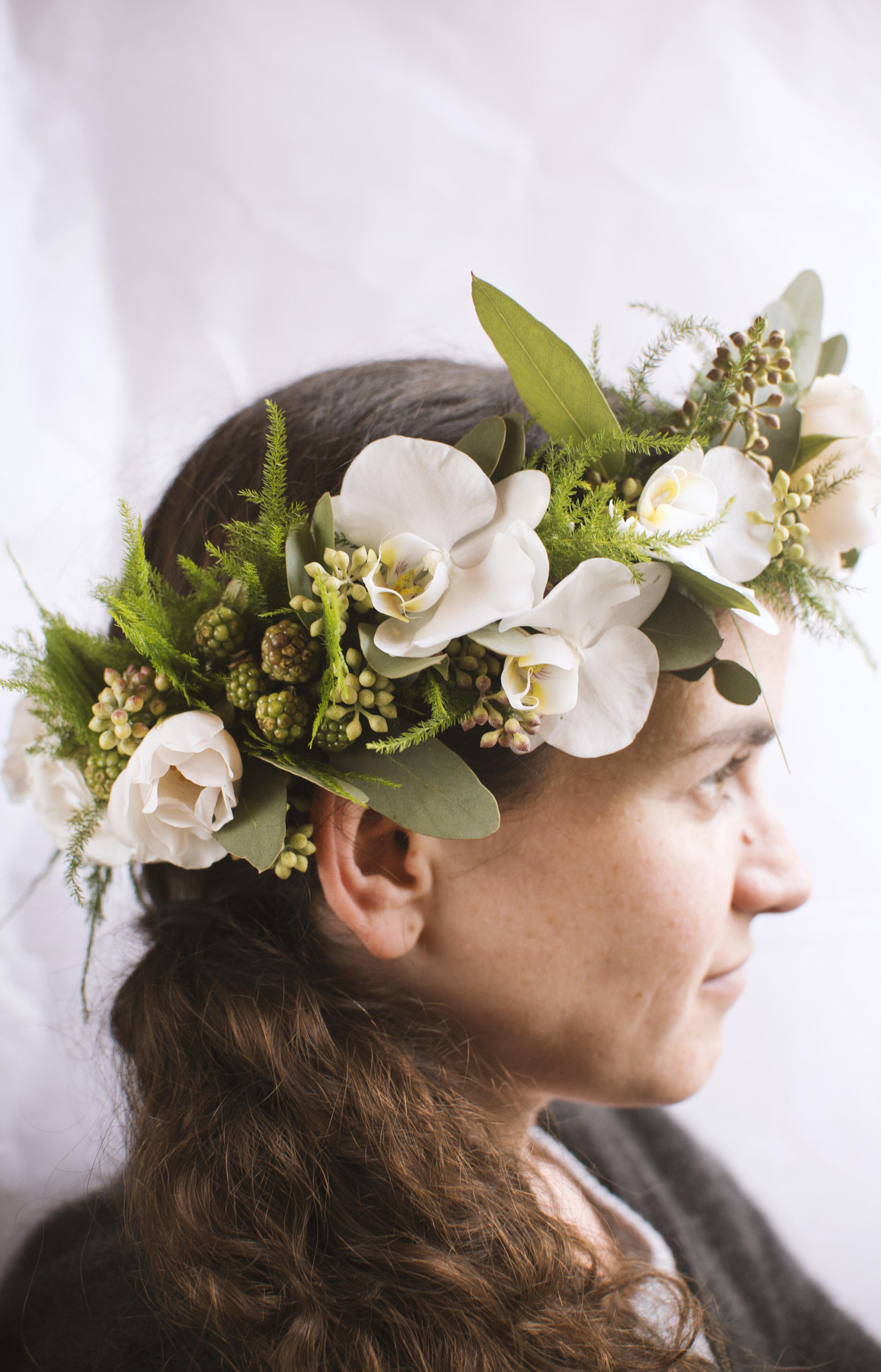 flower crown new orleans mitchs flowers flower cornet denys mertz florist flower shop bachelorete bride wedding celebratory.jpg