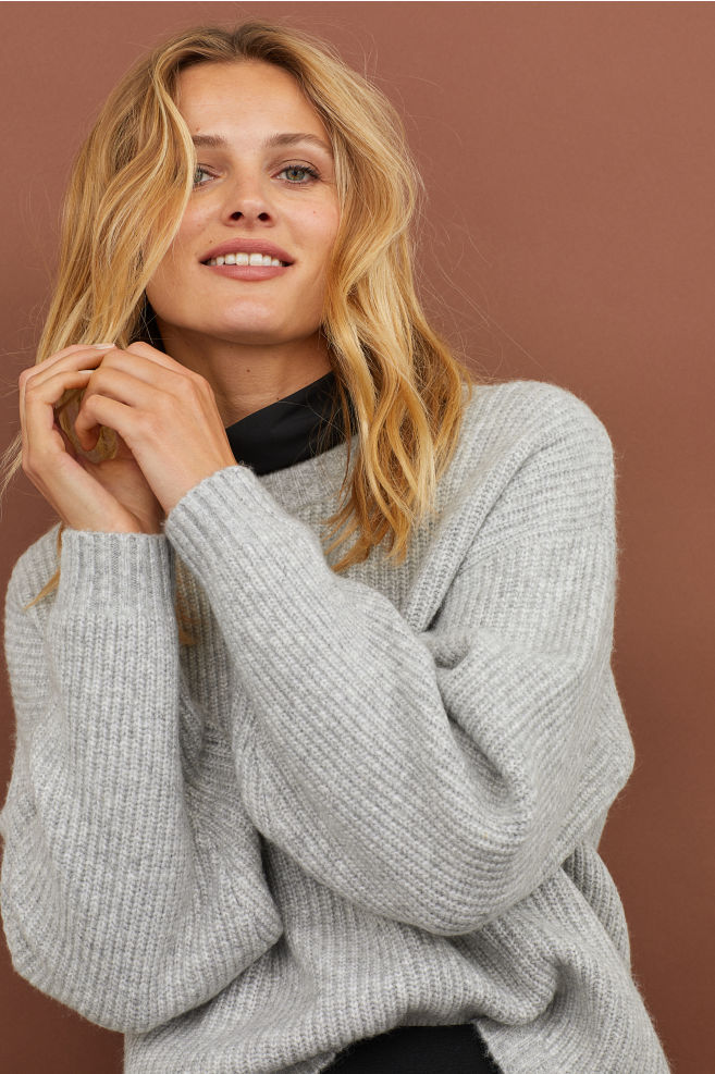 Cozy Knit Sweater - @h&m