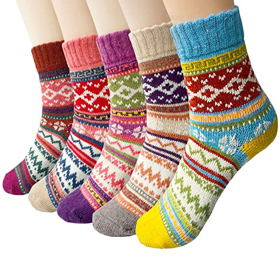 Vintage Wool Socks - @amazon $20.99 (5 pack)