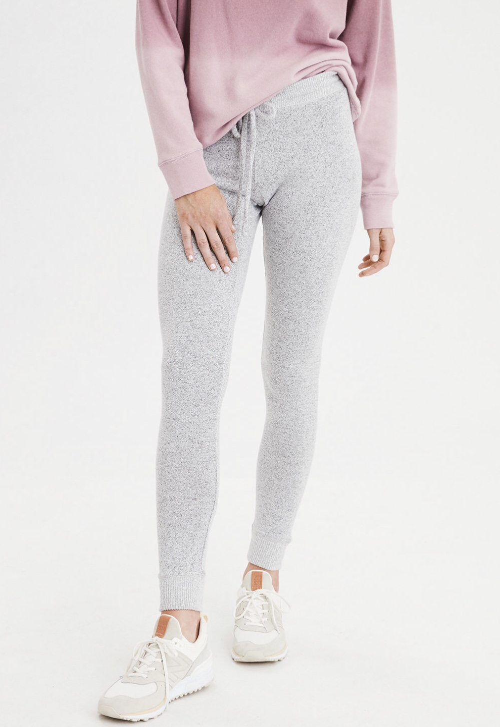 Fleece Sweater Leggings - @americaneagle $23.97
