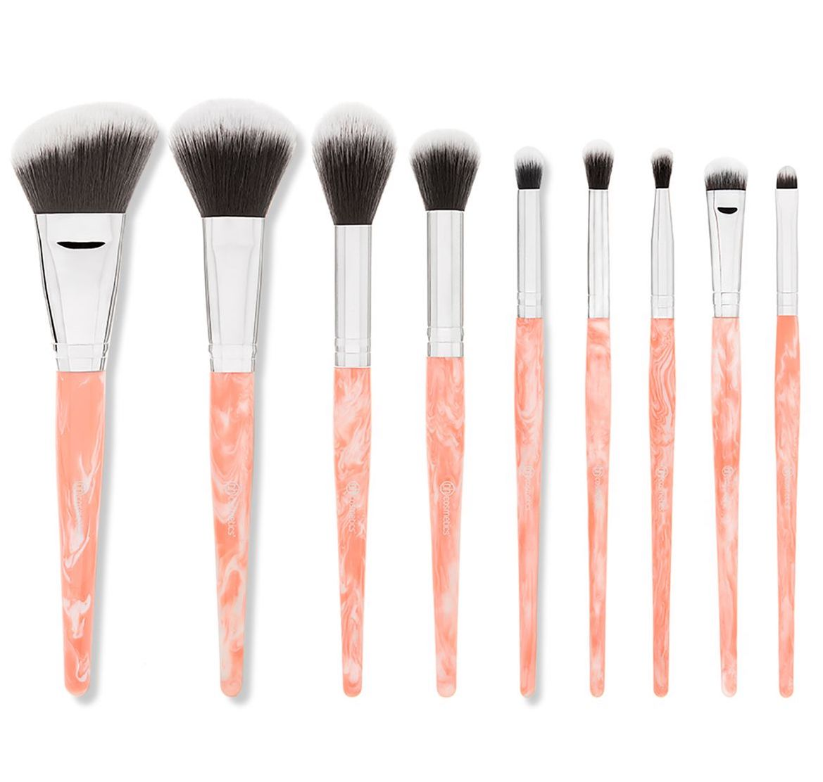 Rose Quartz Makeup Brush Set - @BHcosmetics $13