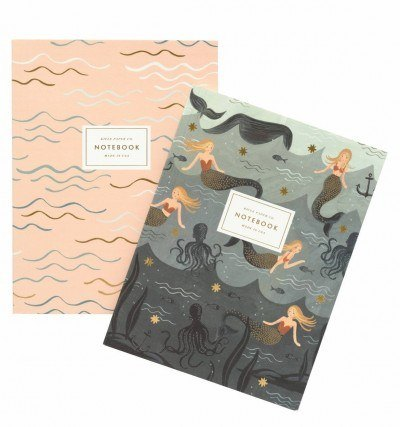 Mermaid Notebook - @amazon $14
