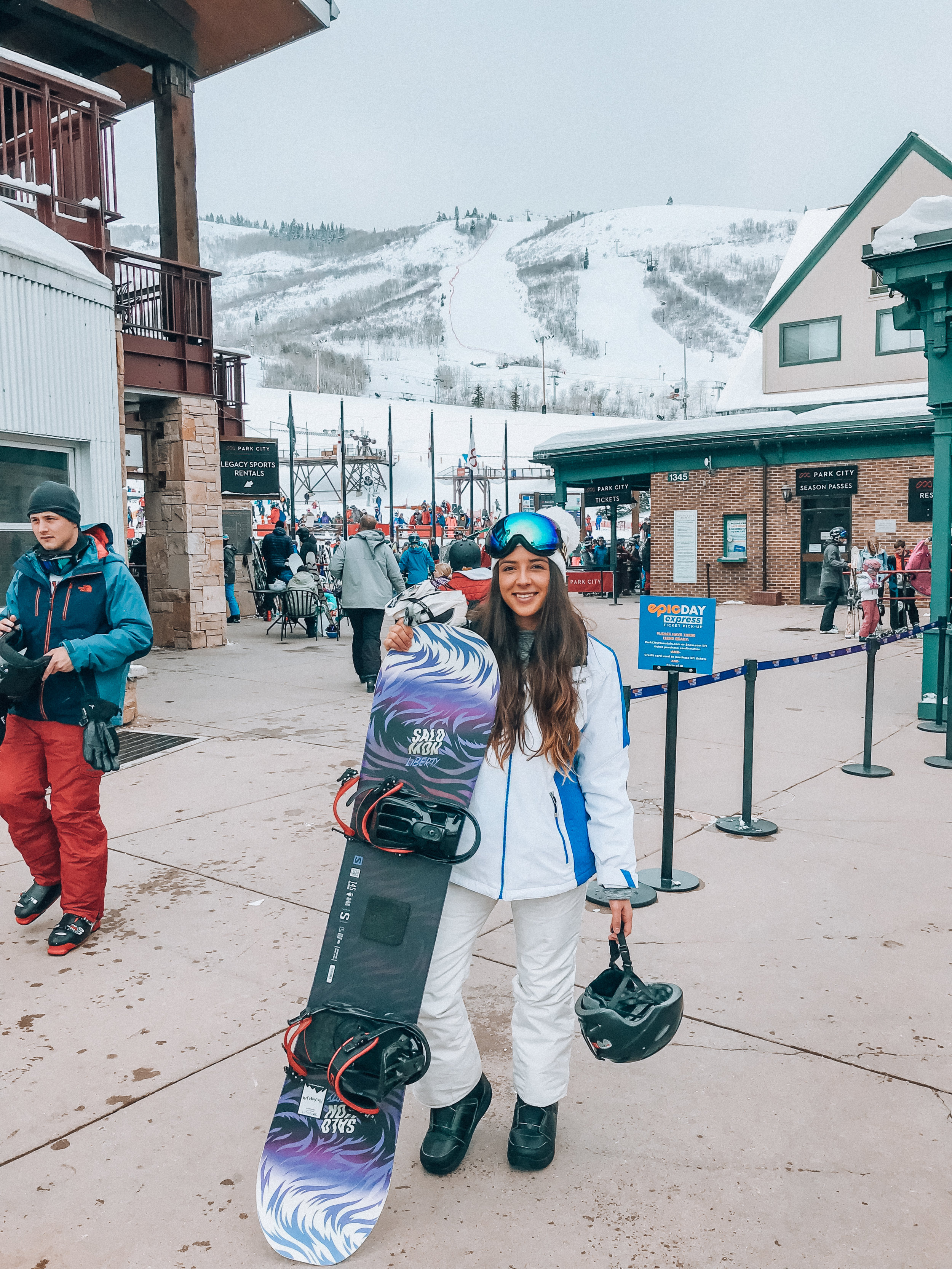 Park City Ski Resort - (Pricey but worth the experience & views)