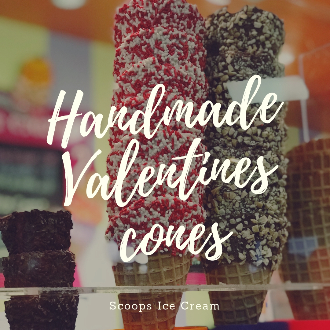 Handmade Valentines cones.jpg