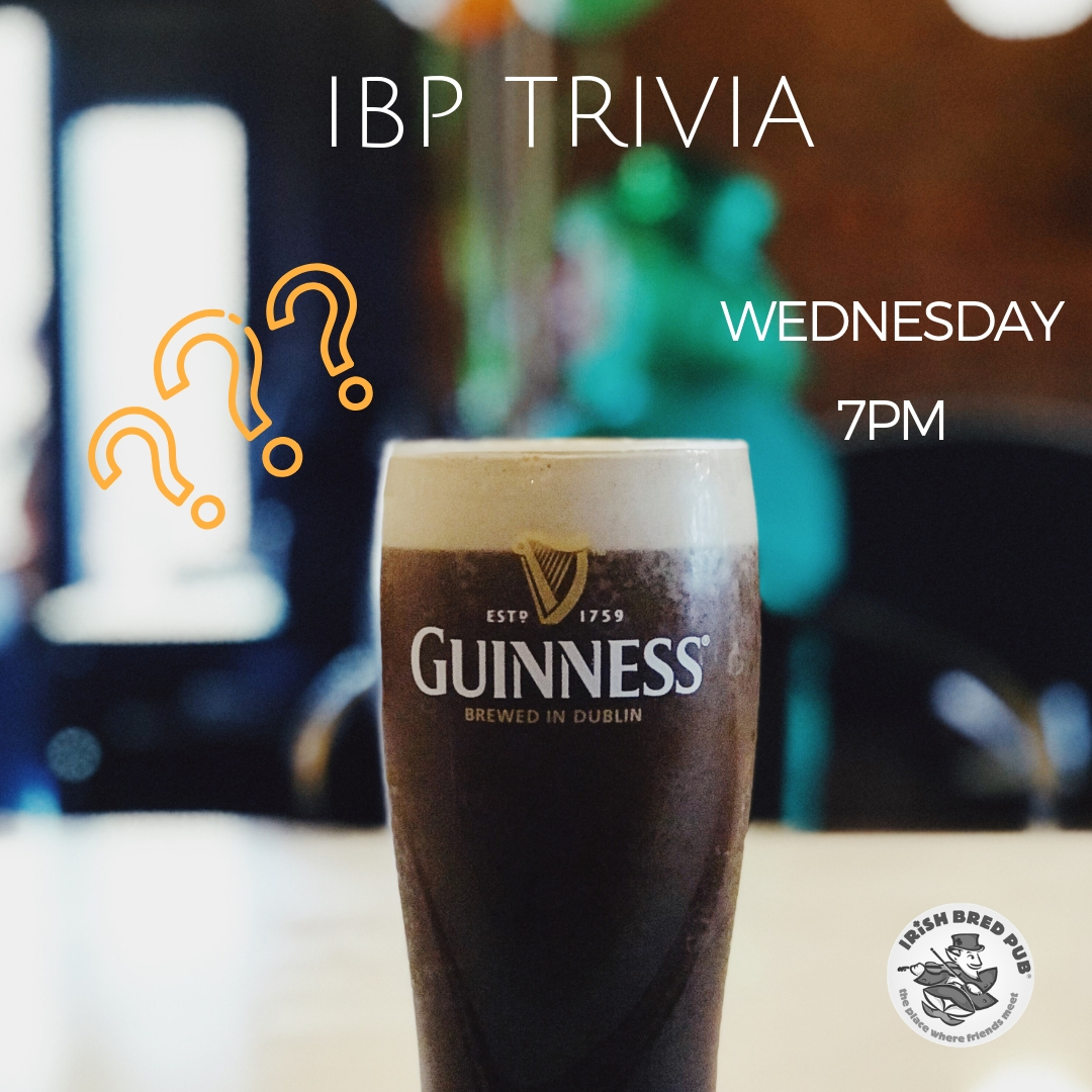 Wednesday, March 14 @ 7 PM IRISH BRED OPELIKAWinning team gets and IBP gift card!!!..jpg