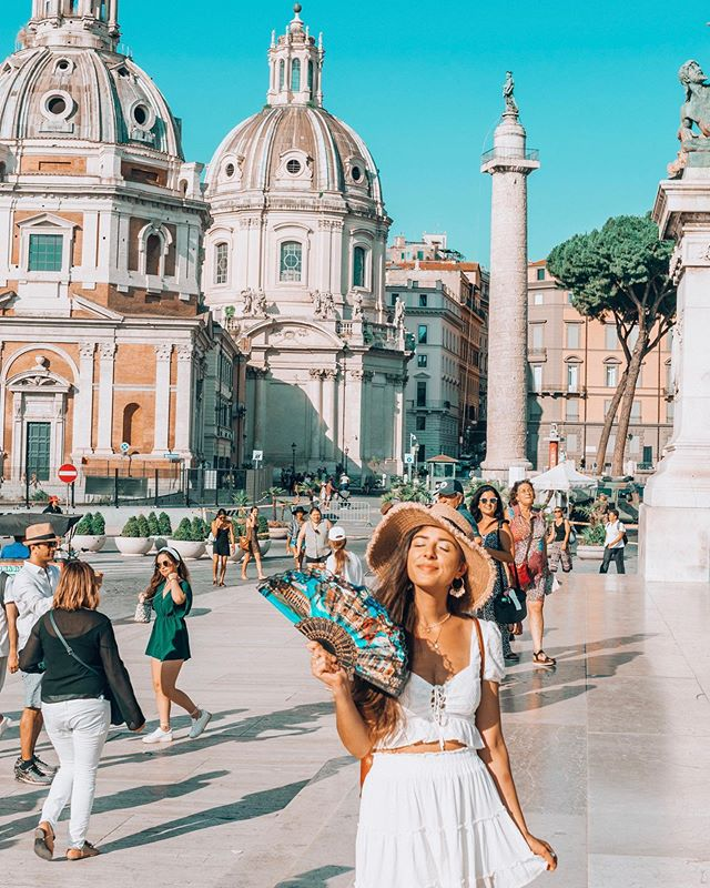 When in Rome 😏