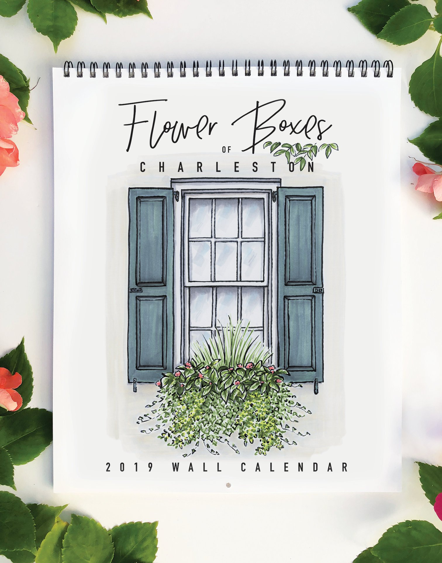 texture design co.  flower box calendar