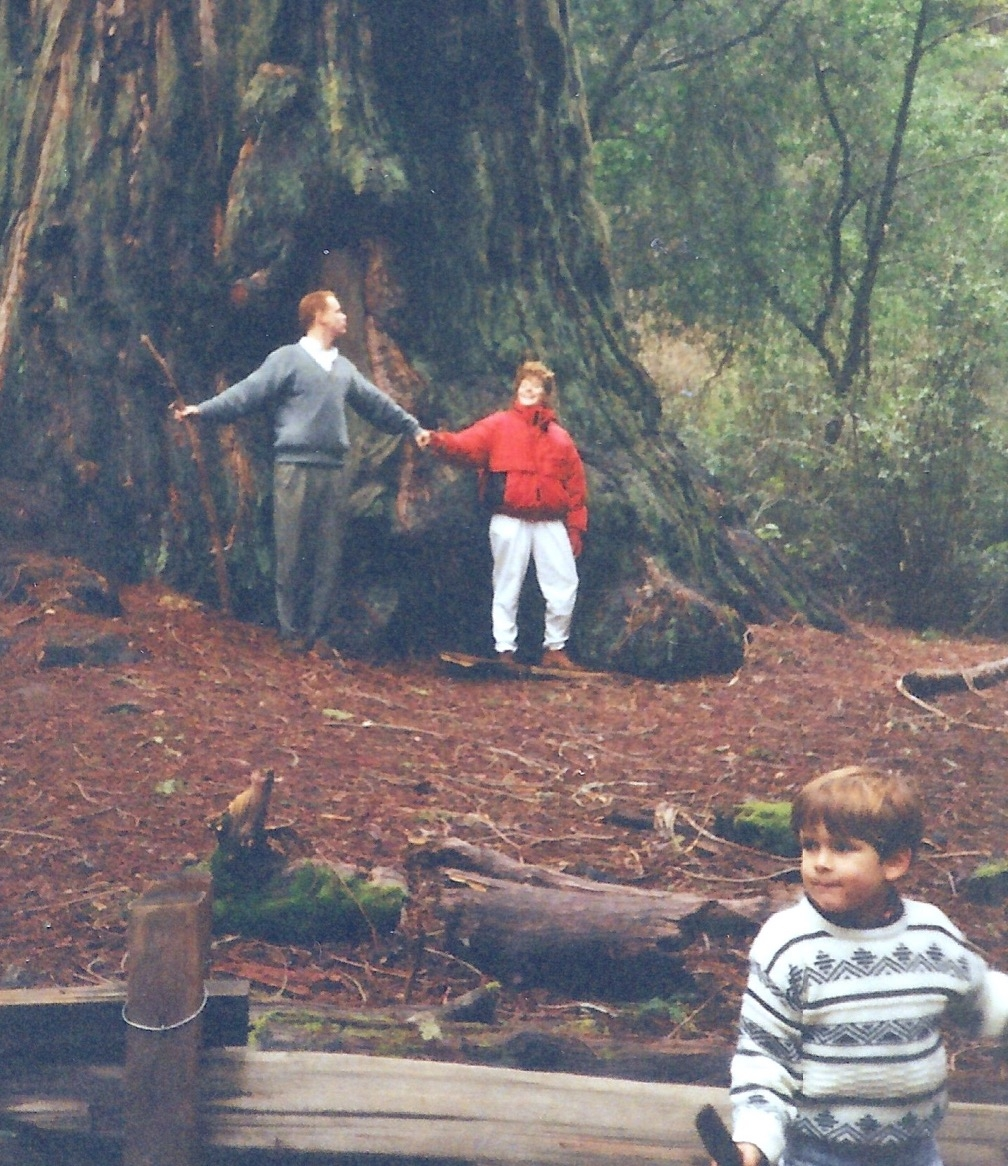 Big Basin Redwoods State Park  with Todd, Michelle and Chris