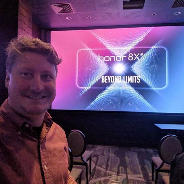 One of the @techtravelgeeks is at the @ukhonor 8X launch event in London. Coverage coming up on the site! #android #Honor8X #ShotOnAndroid