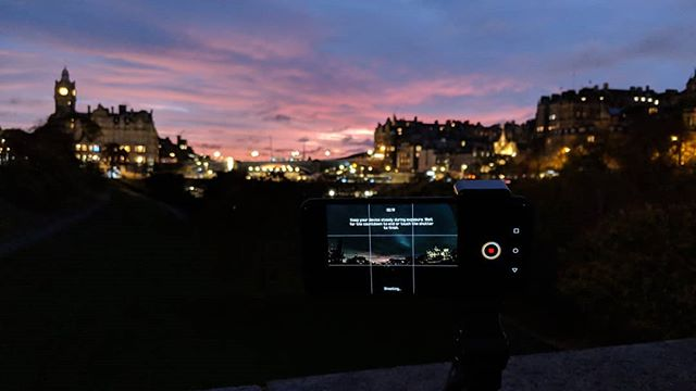 We are putting the #HuaweiMate20Pro through its paces for our review. Would you like to see the result of this shot? #HigherIntelligence #Huawei #Edinburgh #dawn