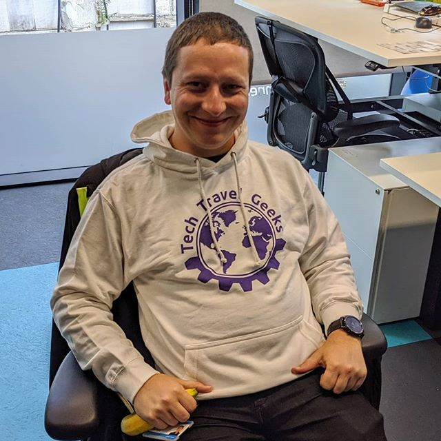 Do you want to look almost as cool as @lukaszsuliga ? You can now purchase @techtravelgeeks merchandise in our @teespring Store. Just search for the Tech Travel Geeks Store in your search engine of choice. #merchandise #fashion #influencer #hoodie #brand #BananaForScale #TechTravelGeeks #ShotOnAndroid #TeamPixel