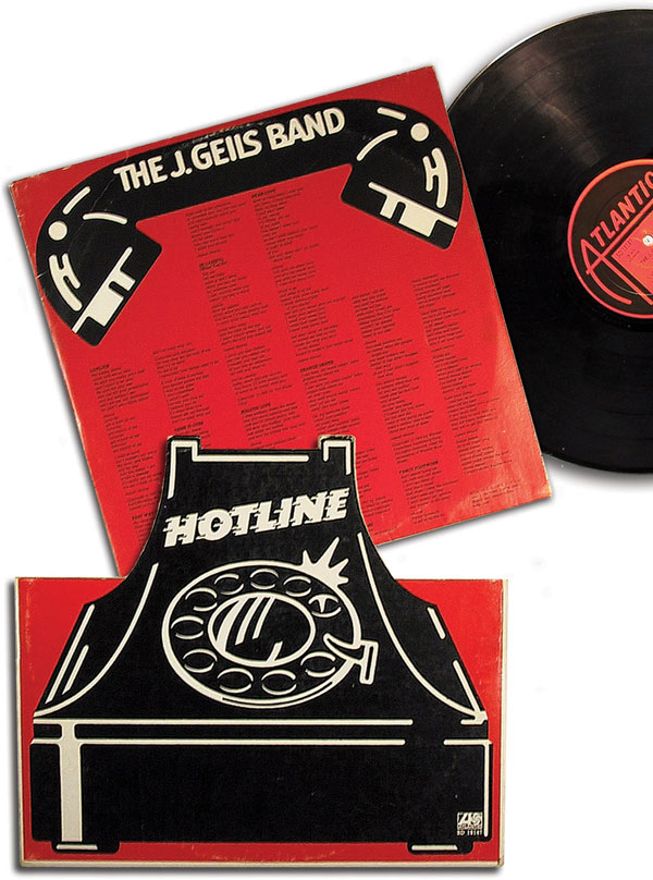 The art director designed the package so that the inner sleeve was the phone receiver. CD packaging design can be jim dandy, but there was nothing like having that twelve inches of cardboard to play with.