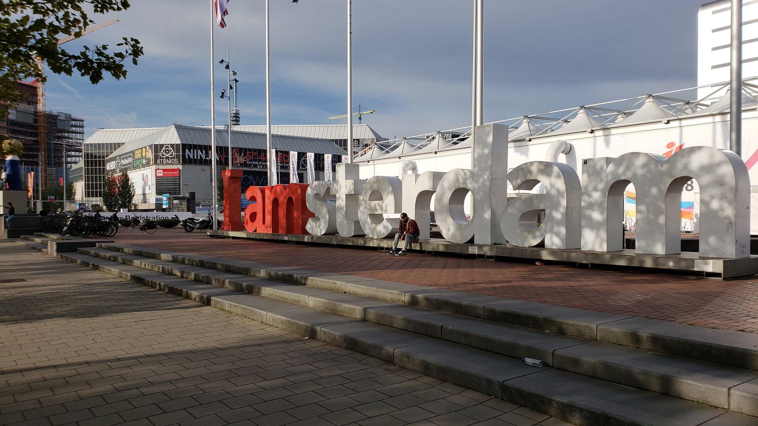 Thank you Amsterdam!
