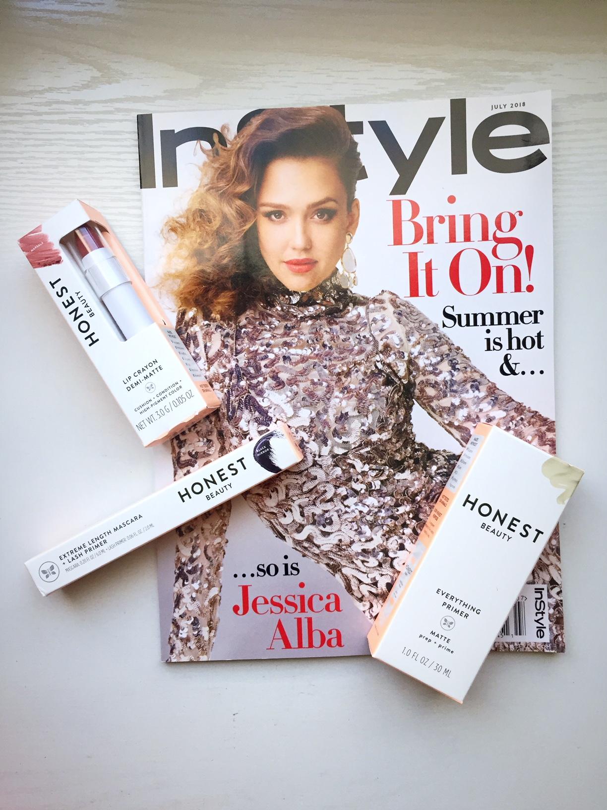 Influenster Honest Beauty Contents.JPG