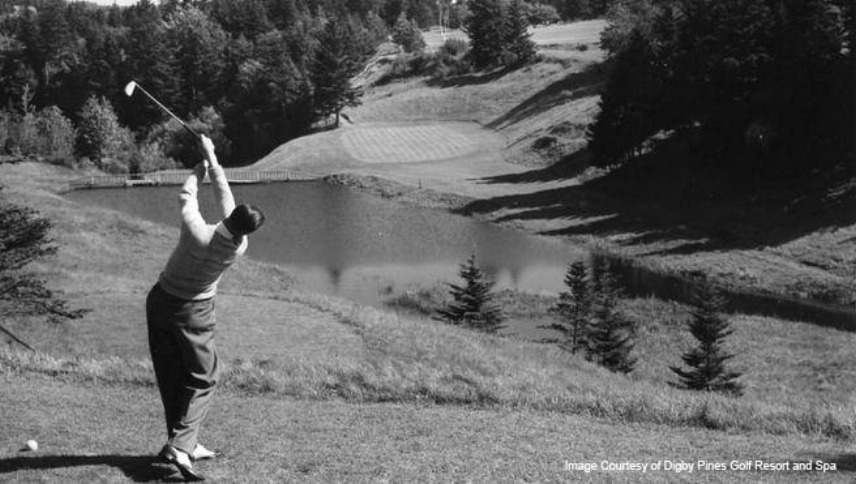 Same Digby Pines hole seen in 1956.