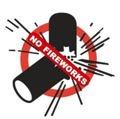 Fireworks are banned in Fremont.