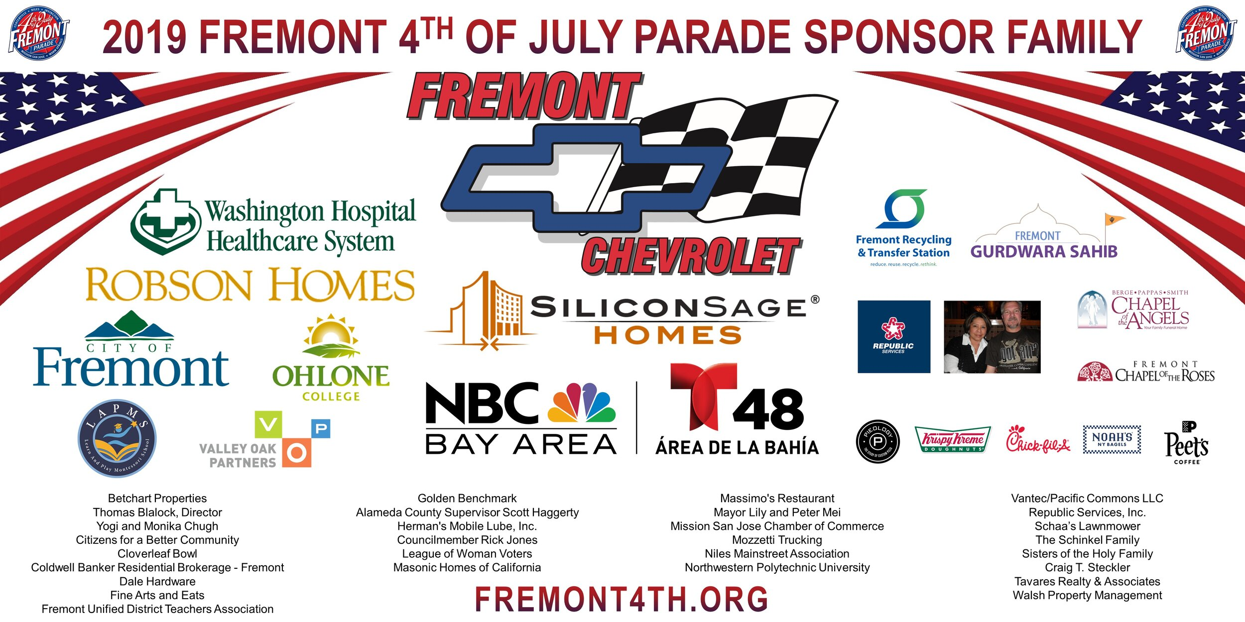 We Thank All Our Sponsors!    Become a Sponsor