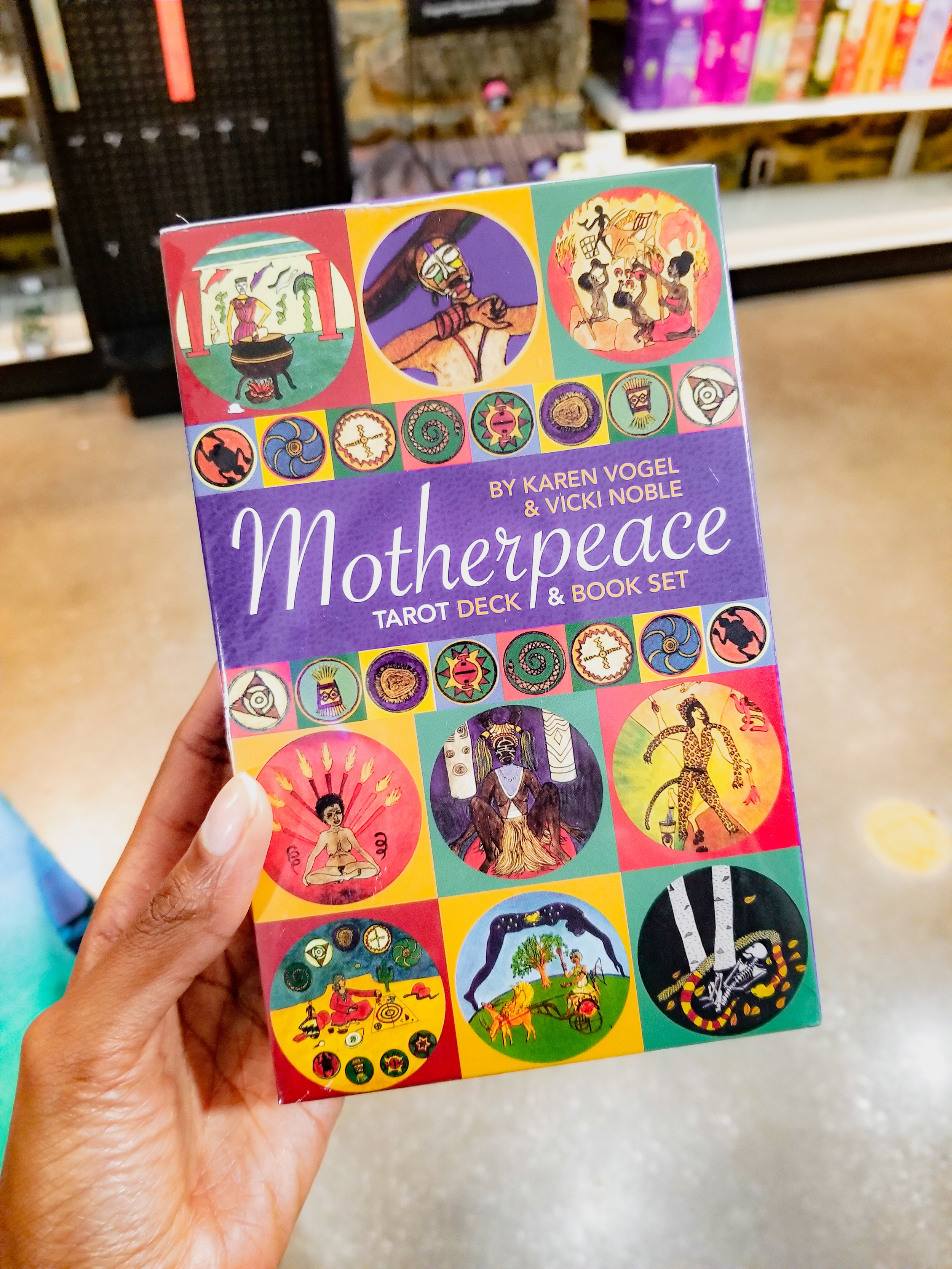 The Motherpeace Tarot Deck - Purchased at Crystals, Candles & Cauldrons in Baltimore, MD