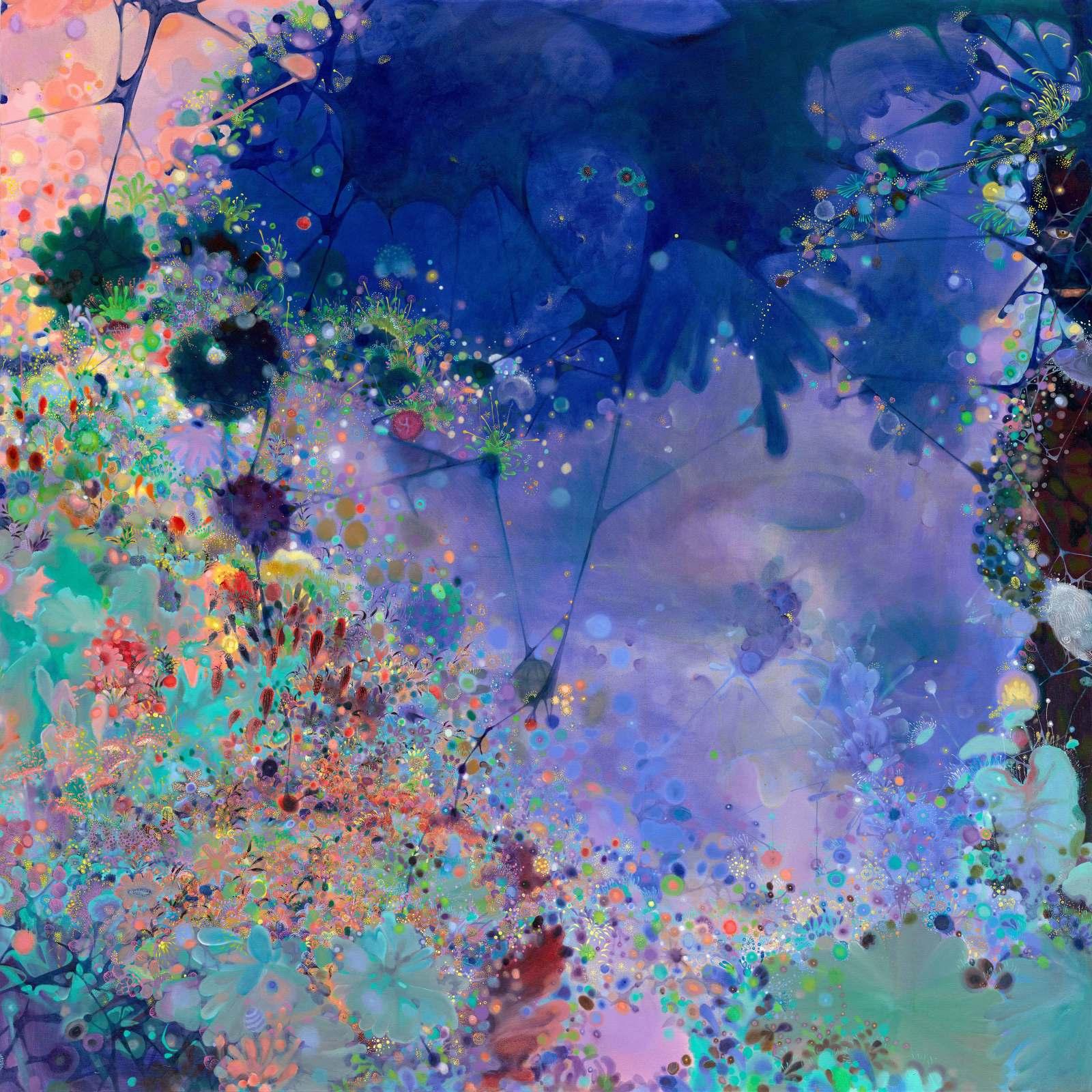 "Dark Fragrance No.2, 71"" x 71"", oil on canvas, 2012"