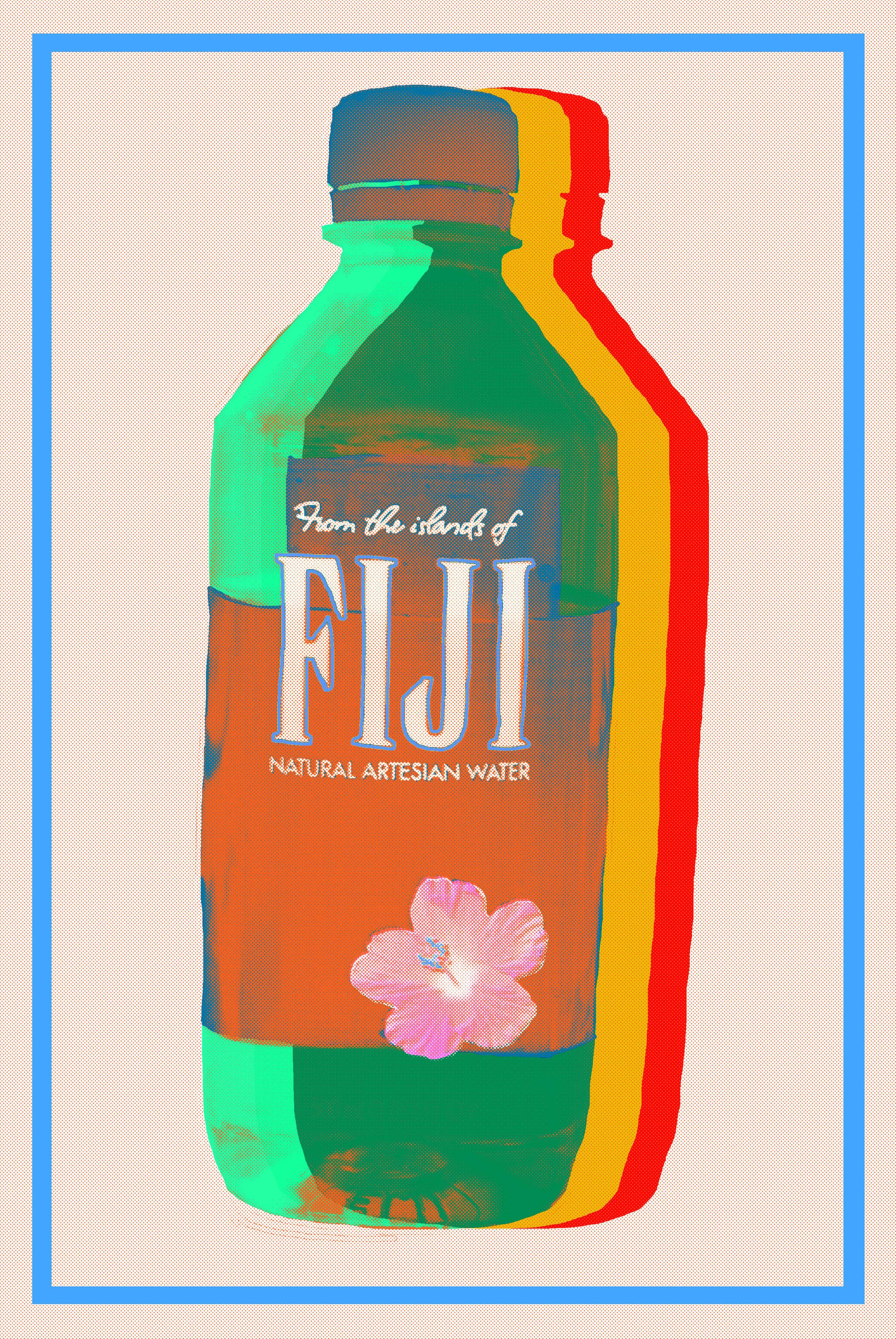 "Fiji White  Giclee Print  11"" x 8.5""  15 edition + 2 AP  2018"