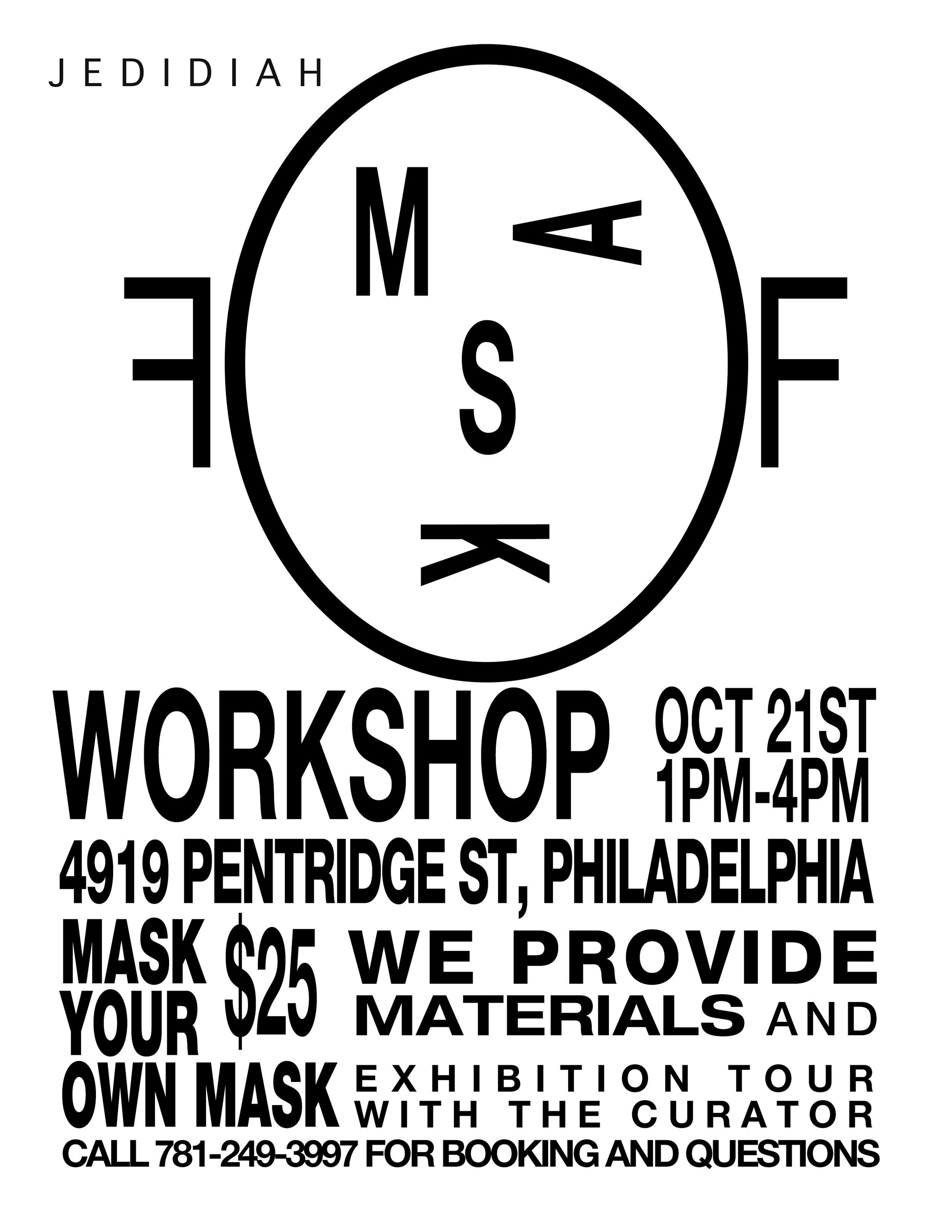 Mask-Off Workshop