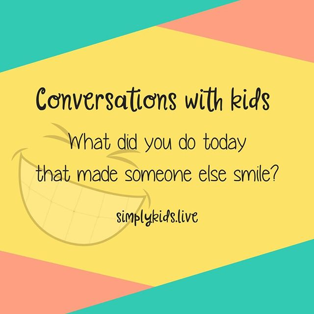 Comment what your kiddo said!⠀⠀⠀⠀⠀⠀⠀⠀⠀ ⠀⠀⠀⠀⠀⠀⠀⠀⠀ #conversationswithkids #kidtalk #talkingwithkids #talkingtokids #familytime #conversationstarters
