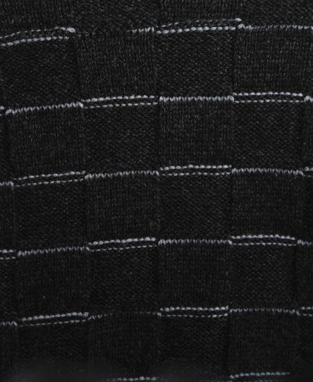 Brick Weave Turtleneck Poncho Short...jpg