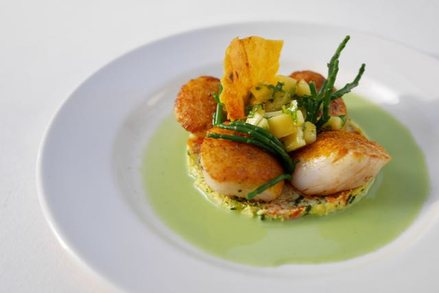 Kirkcudbright's famous King Scallops