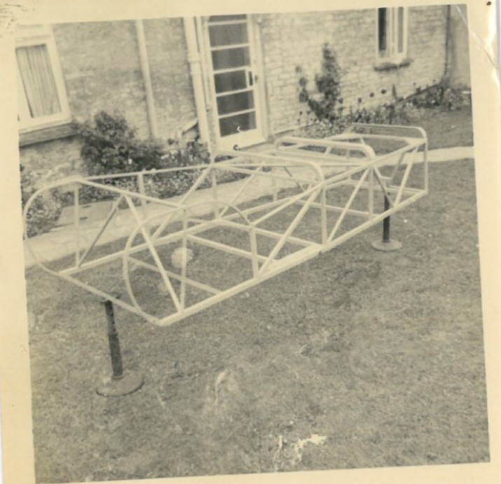 Mk 2 customer chassis £48.10s in 1960.
